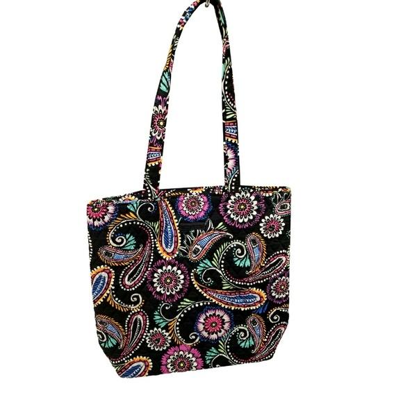 Vera Bradley Handbags - Vera Bradley Tote Bag in Bandana Swirl